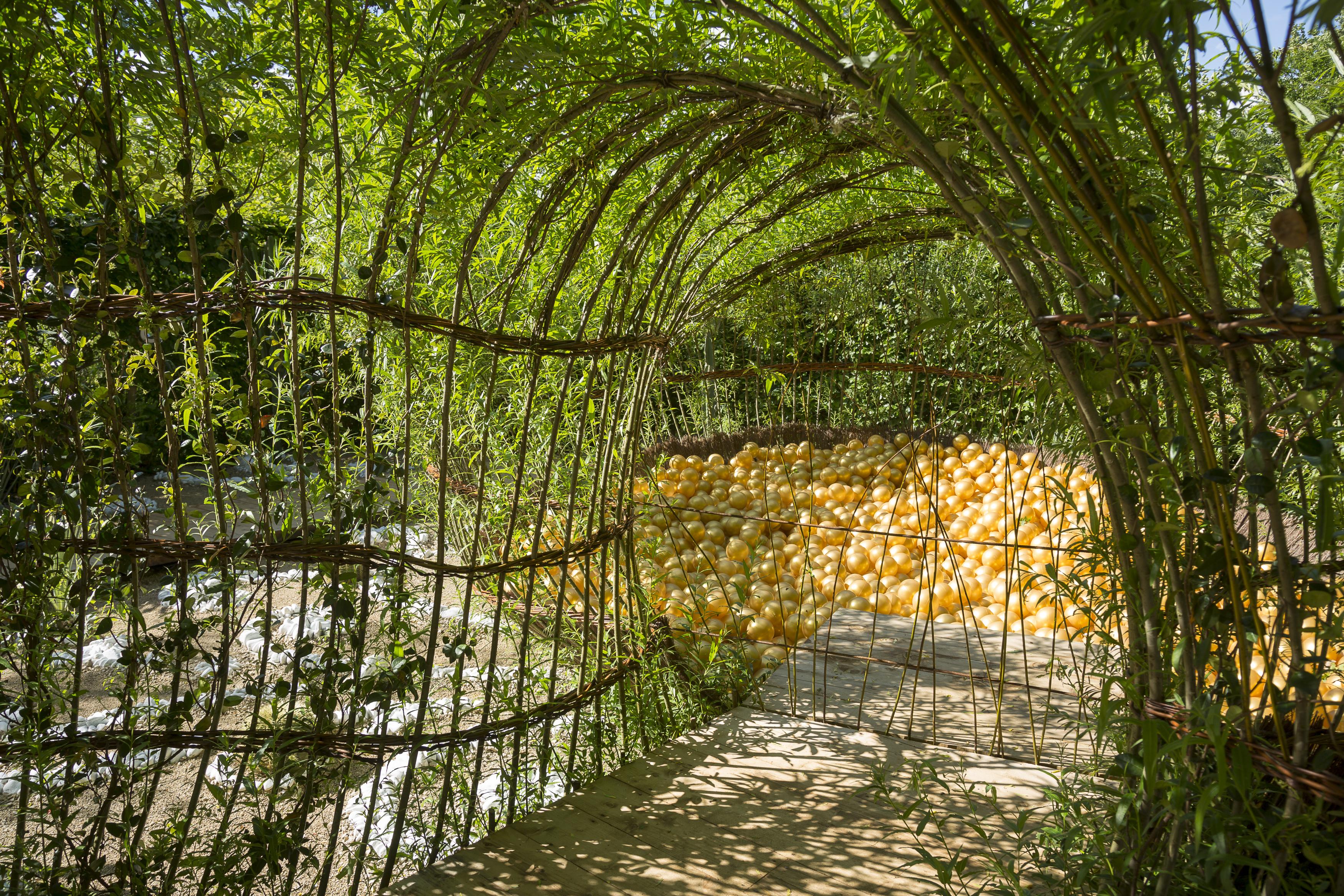 Chaumont sur loire le festival 2015 des jardins de for Jardins exceptionnels