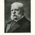 Portrait de Jules Gravereaux extrait de « BOIS, Désiré, ' Notice biographique sur M. Jules Gravereaux ' in Journal de la Société nationale d'horticulture de France, Paris : s.n., 1884, p. 105. »