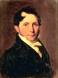 Philippe-André de Vilmorin (1776-1862), dendrologue, créateur d'un arboretum à Verrières-le-Buisson. Peint par Boilly - © D.R.