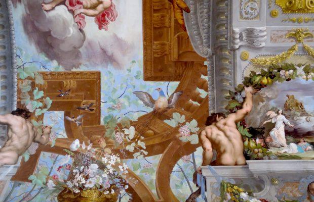 Détail des fresques de la galerie de Bacchus - © Chiara Santini