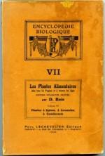 les plantes alimentaires Epices ._. Désiré Bois 1934