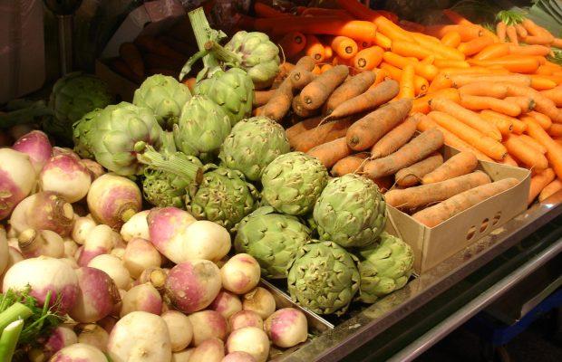 D'Europe, d'Asie, d'Amérique : les légumes que nous consommons aujourd'hui proviennent de presque tous les continents - © J.-F. Coffin