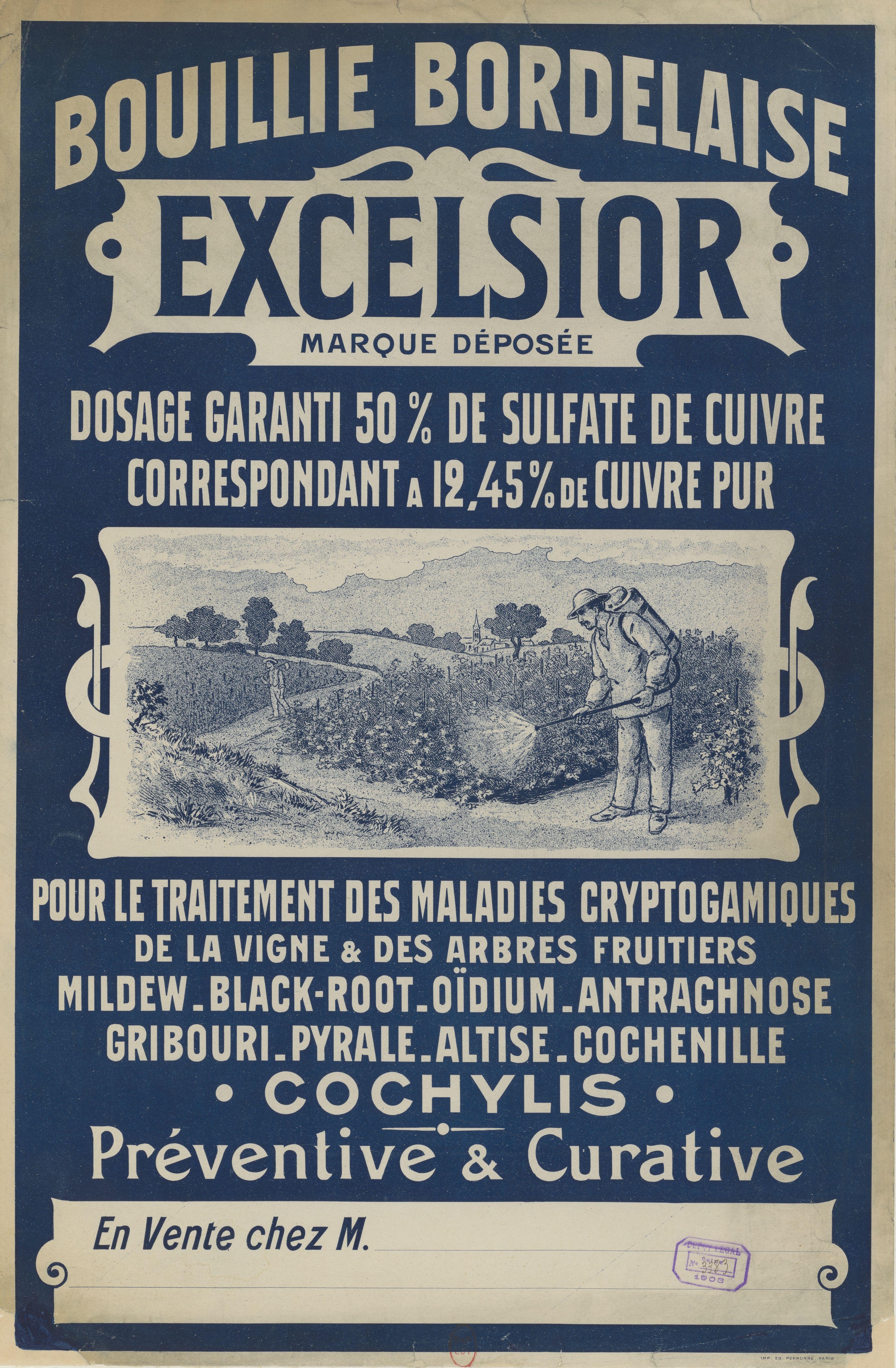 Bouillie bourdelaise 1903