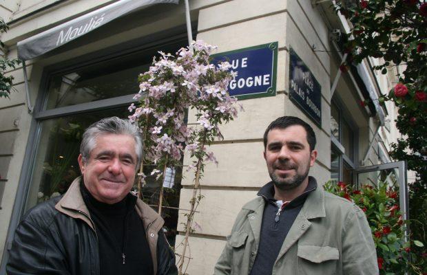 Henri Moulié et son fils Julien