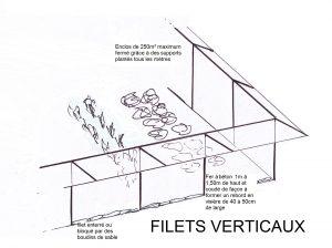 Filet vertical
