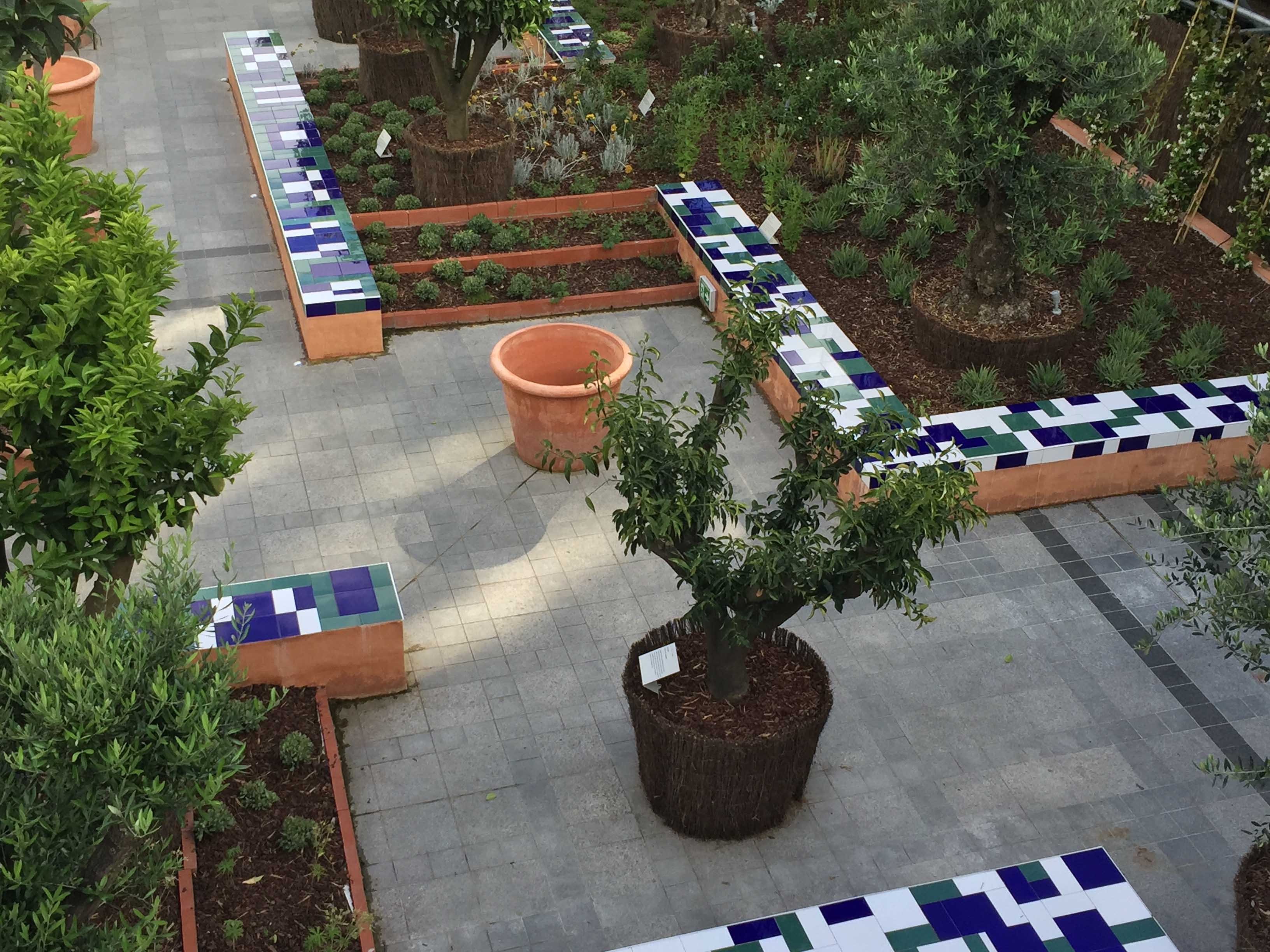 De La Poesie De La Science Le Jardin Dorient De Linstitut Du - Jardin-arabe