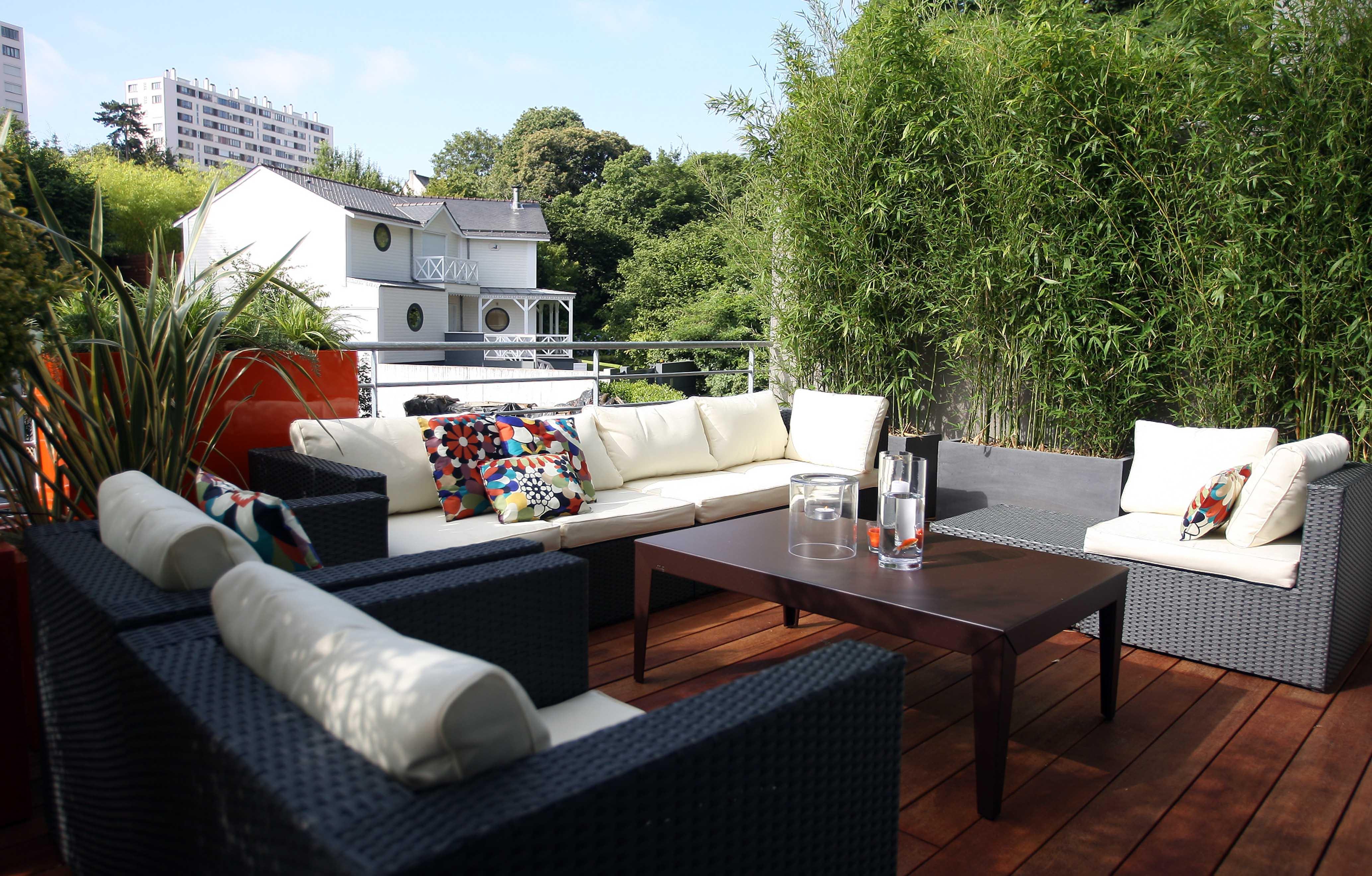 Comment Cacher Sa Terrasse balcons et terrasses : végétalisez ! - jardins de france