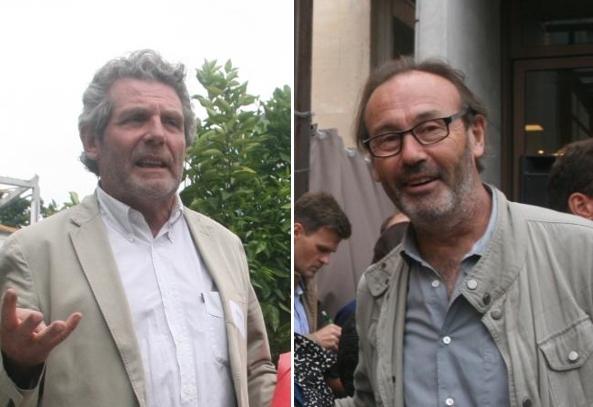 Michel Péna et François Abélanet