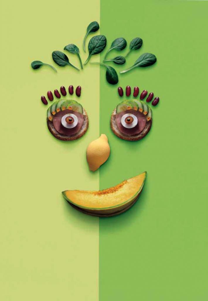 « La santé vient en mangeant », couverture du « Guide alimentaire pour tous » édité dans le cadre du Programme National Nutrition-Santé - © D.R.