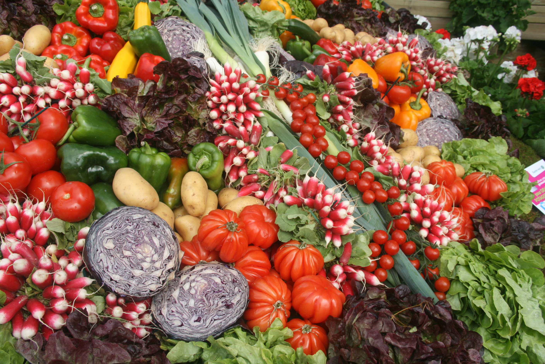 légumes et vitamines