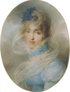 L'hortensia tirerait-il son nom de celui de la reine Hortense (portrait par Jean-Baptiste Isabey)?- © D.R.
