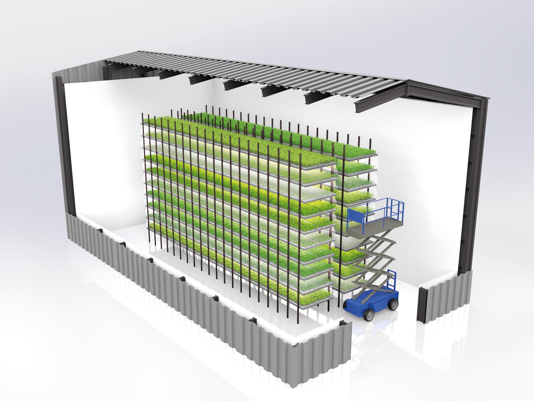 Le système HRVST a été pensé pour être 100 % modulable et adaptable à n'importe quel espace urbain. Les plantes grandissent dans des pots individuels en fibre de bois, 100 % biodégradables, remplis de terreau renouvelable (sans tourbe).