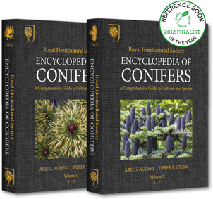 Couverture encyclopedia of conifers