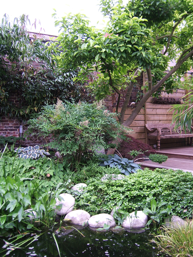 le style japonais une tendance actuelle dans le jardin d. Black Bedroom Furniture Sets. Home Design Ideas