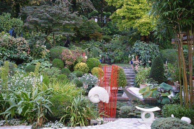 Le clos des c dres notre jardin pas pas jardins de france for Jardin en france