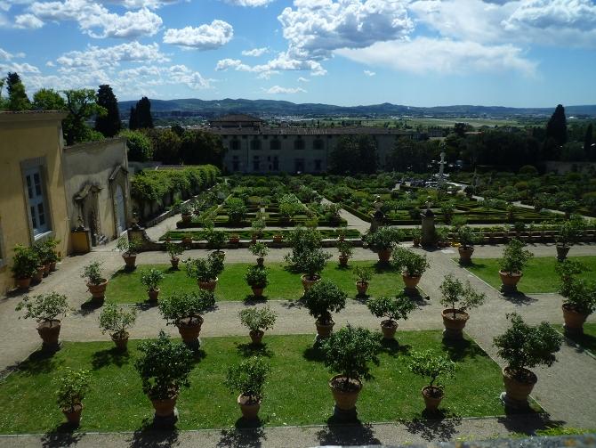 Les jardins de Castello et de la Petraia, ou les terrasses ...